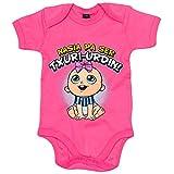 Body bebé nacida para ser Txuri Urdin Real Sociedad fútbol - Rosa, 6-12 meses