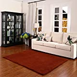 KELE Moderne Mode Teppich Wohnzimmer couchtisch Gepolsterte Teppich Matten Neben Dem Bett-E 80x160cm(31x63inch)