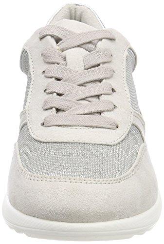 23625 Femme Gris Bassi Com silv Sneakers Glam Tamaris ATwZqdA