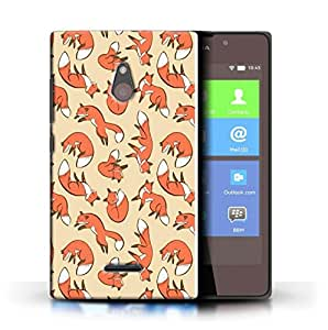 PrintFunny Designer Printed Case For Nokia Lumia XL