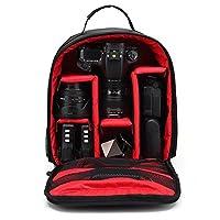 Caractéristique : 100 % neuf et haute qualité. Quantité : 1 Élégant sac à dos avec doublure de couleur, compatible avec la plupart des appareils photos reflex numérique ; Doublure intérieur vert ; Détient le corps de la caméra reflex numérique ave...