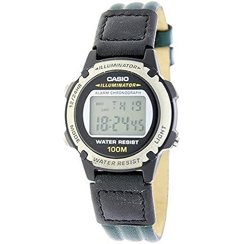 CASIO LW-100HL-3A - Reloj digital multifunción para cadete - Alarma, Crono, Sumergible