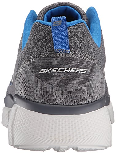 Skechers Equalizer 2.0 True Balance, Chaussures Multisport Outdoor Homme Gris (Gybl)