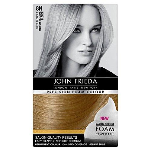 John Frieda precisión espuma color rubio claro natural