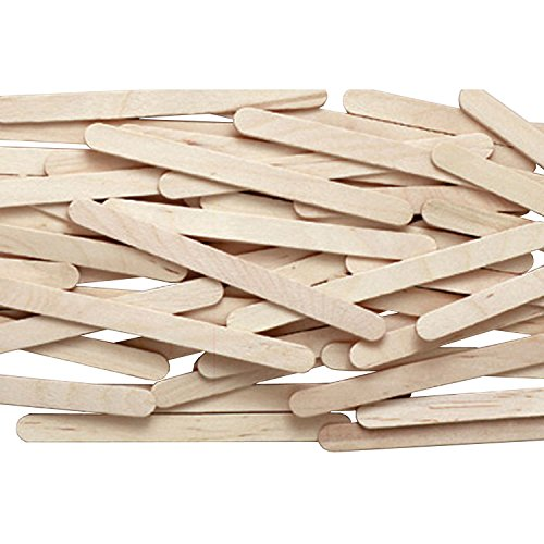 Natural Wood Craft Sticks, 4 1/2 X 3/8, Natural Wood, 1000/Box