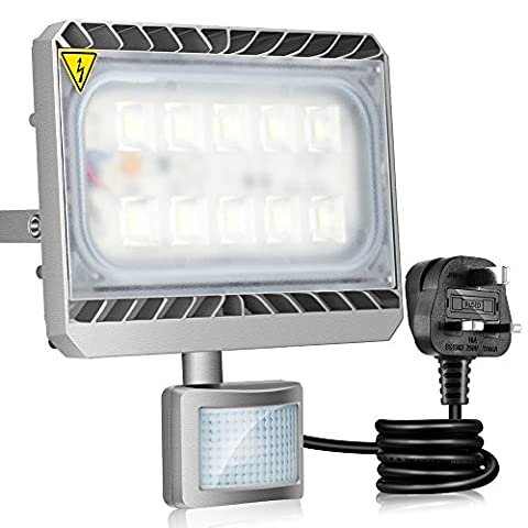 Gosun LED Motion Sensor Flood Light , 50W Outdoor LED