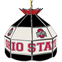 "NCAA Ohio State University Tiffany lámpara de Gameroom, 16"""