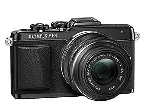 "Olympus E-PL7 Appareil photo hybride Ecran LCD 3"" (7,62 cm) 16,1 Mpix + Objectif 14-42 mm II Manuel Noir"
