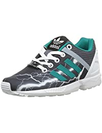 new concept c358a 9f600 adidas ZX Flux Split K, Baskets Basses Mixte Enfant