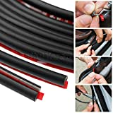 #8: 5M Auto Car Door Moulding Rubber Sealing Strip Anti-scratch Sticker Trim Guard Edge Protector Strip Cover Protection Car-styling
