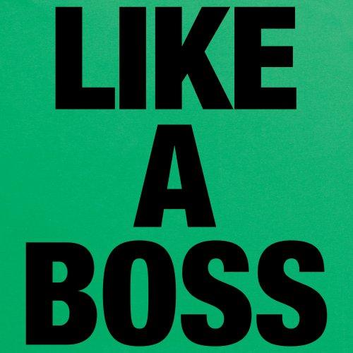 Like A Boss T-Shirt, Herren Keltisch-Grn