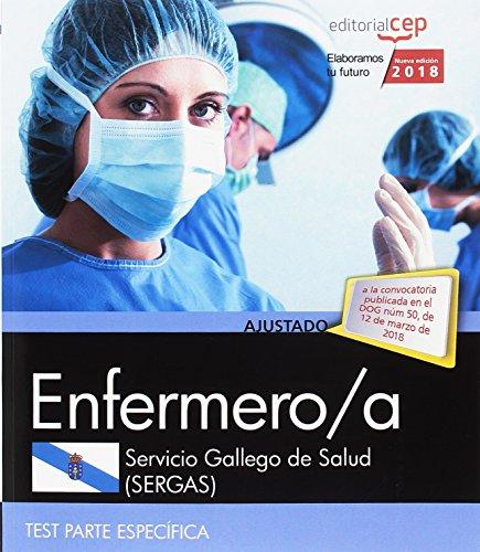 Enfermero/a del Servicio Gallego de Salud (SERGAS). Test Parte Específica por Vv.Aa.