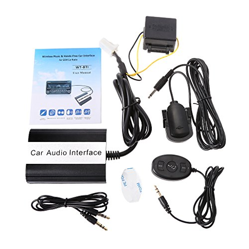 Qiman Auto Bluetooth Kits MP3 Aux Adapter Schnittstelle