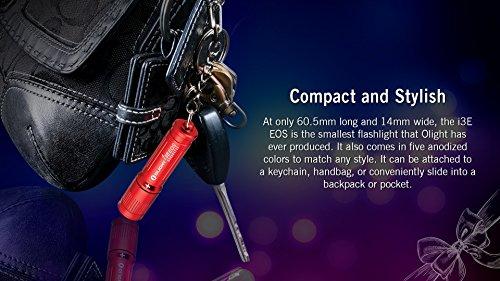 Olight® I3E EOS Mini Taschenlampe mit Schlüsselanhänger
