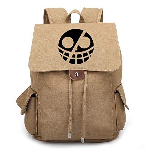 Piece One Kostüm Chopper - One Piece Anime Kordelzug Rucksack Daypack Laptop Tasche Schulranzen Schulranzen