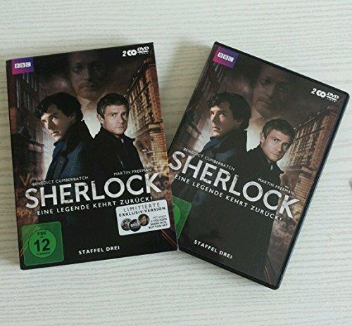 Sherlock - Staffel 3 (Limited Edition inkl. Button Set) (2 DVDs)