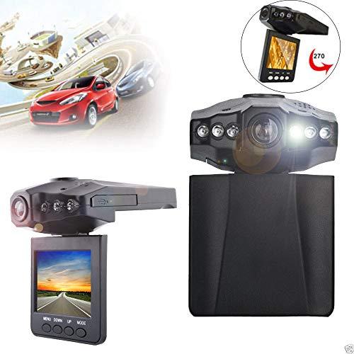 Dashcam Autokamera 1280P HD 2.2inch LCD Nachtsicht CCTV im Unfall Video Beweis Recorder des Auto DVR Camera Bewegungserkennung | WDR | Auto DVR Camcorde | Parkmonitor | Loop-Aufnahme | Nachtsicht 1-kanal-visier