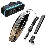 Aspirapolvere Auto, Hikeren 12V 75W Mini Aspirapolvere Portatile / Aspirapolvere per Auto con 16.4 FT (5M) Cavo di Alimentazione, con Borsa per il Trasporto