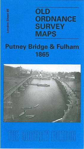 Putney Bridge (Putney Bridge and Fulham 1865 (Old O.S. Maps of London))