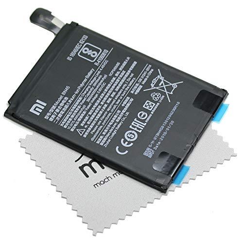 Batería para Xiaomi Original BN45 para Xiaomi Mi Note 2, Xiaomi Redmi Note 5 + paño mungoo