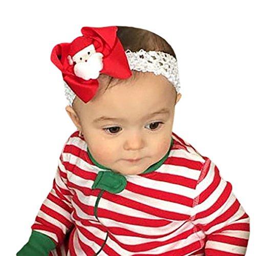 Stirnbänder Transer® Baby Toddler Kinder Stirnband Weihnachten Elastisch -