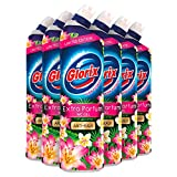 Glorix WC Powergel Toiletreiniger Pink Flower 6 x 750 ml Voordeelverpakking