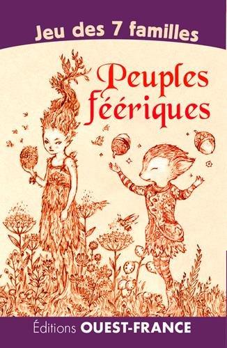 Jeu 7 familles : Peuples féeriques par Amandine Labarre