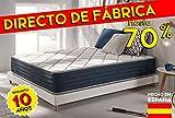 Acheter Matelas Supervisco 160 x 200 cm en mousse Blue Latex® + mémoire de forme Thermosoft® + 7 zones de confort + faces été/hiver 25 cm, confort Ferme