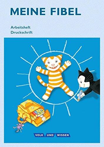Meine Fibel - Aktuelle Ausgabe: 1. Schuljahr - Arbeitsheft in Druckschrift: Mit Silbenschieber