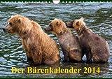 Der Bärenkalender 2014 (Wandkalender 2014 DIN A4 quer): Grizzlybären - ein Fotoshooting der besonderen Art (Monatskalender, 14 Seiten) - Max Steinwald
