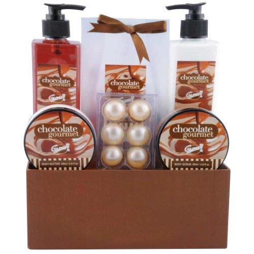Gloss! Chocolate Bath Gift Set - 7 Piece