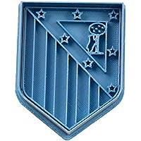 Cuticuter Fútbol Atletic De Madrid Cortador de Galletas, Azul, ...