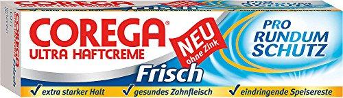 Corega 6X Ultra Haftcreme Frisch, Ohne Zink - 40ml