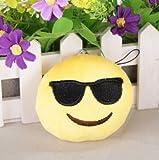Cool Sonnenbrillen Emoji Schlüsselanhänger Stoff Whats App
