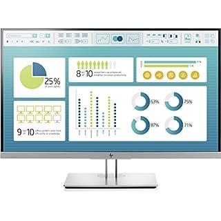 HP EliteDisplay 'E27327inch Full HD IPS Display Black/Silver Flatscreen for PC–PC Flat Screens (68.6cm (27