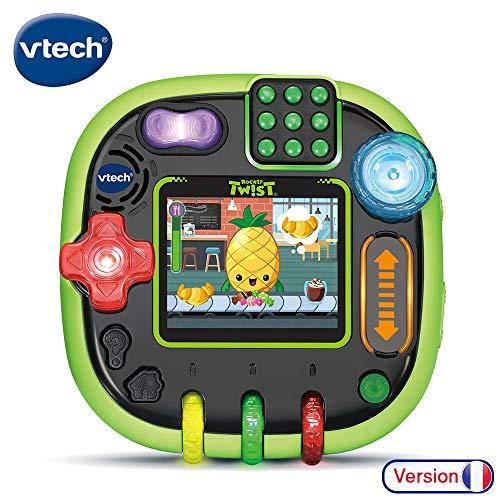 VTech RockIt Twist - Console de jeux éducative pour enfant, vert translucide