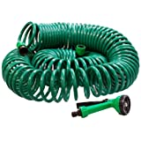 Best Coiled Garden Hoses - 30m Coil Hose Review