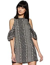 VeniVidiVici Women s Floral Slim Fit Shirt (VVV79208 Peach Small) c50881e14