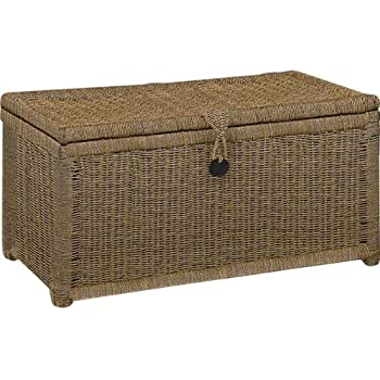 Fabulous Large Seagrass Storage Chest - Natural.: Amazon.co.uk: Kitchen & Home UE27