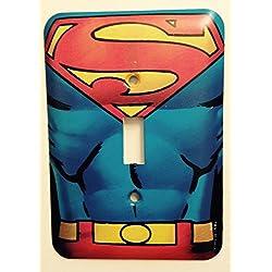 DC Comics Superman Músculo lámpara de pared tapa del interruptor