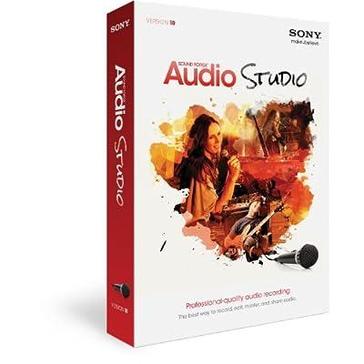 Sony Sound Forge Audio Studio 10 (PC)