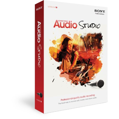 SONY Sound Forge Audio Studio 2013 Release (Forge Sound Studio Sony Audio)