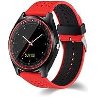 DROMATEC® Lighting, orologio sportivo connesso,smartwatch compatibile con Android IOS, bluetooth, notifiche di applicazioni fitness, calorie perse, distanza percorsa, corsa, orologio connesso