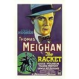 Póster de película B 27 x 40 raqueta - 69 cm x 102 cm Thomas Meighan en Louis Marie Prevost Wolheim G, Pat Collins Henry Sedley
