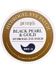 Petitfée - Black Pearl & Gold - 60 x Pads Yeux à l'Hydrogel