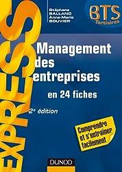 Management des entreprises - en 24 fiches - 2e édition