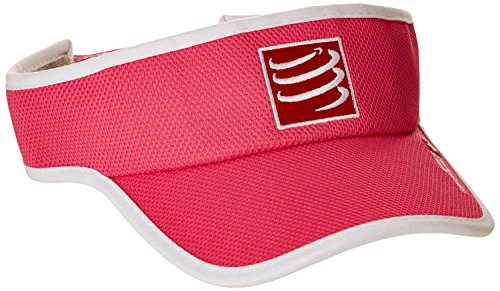 Compressport VIRS - Visera unisex, color rosa, talla única