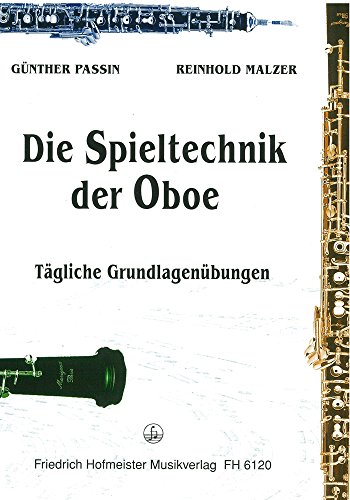 Spieltechnik der Oboe: Tägliche Grundübungen