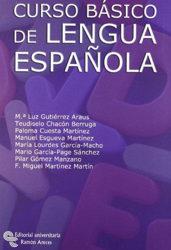 Curso básico de lengua española (Manuales)