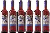 Vive la Vie - Vin rouge sans alcool 75 cl - Lot de 6